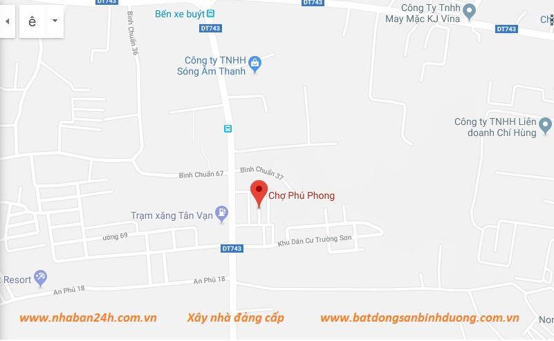 Bản Đồ Phợ Phú Phong