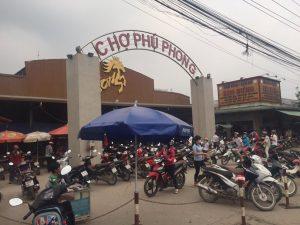 khu dân cư chợ phú phong thuận an bình dương