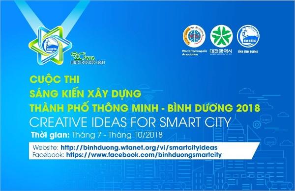Cuộc thi Sáng kiến thành phố thông minh - Bình Dương 2018