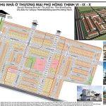 bản đồ phan lô dự án khu nhà ở phú hồng thịnh 6,9,10