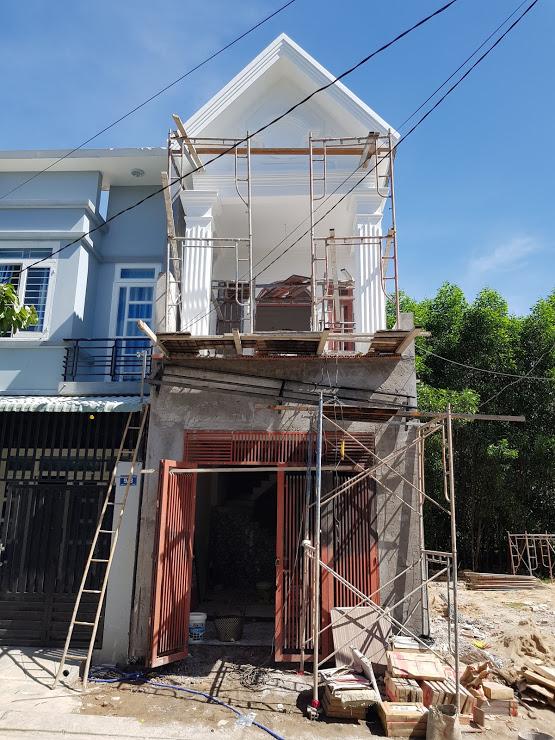 Mặt tiền căn nhà bán tại phường tân đông hiệp dĩ an