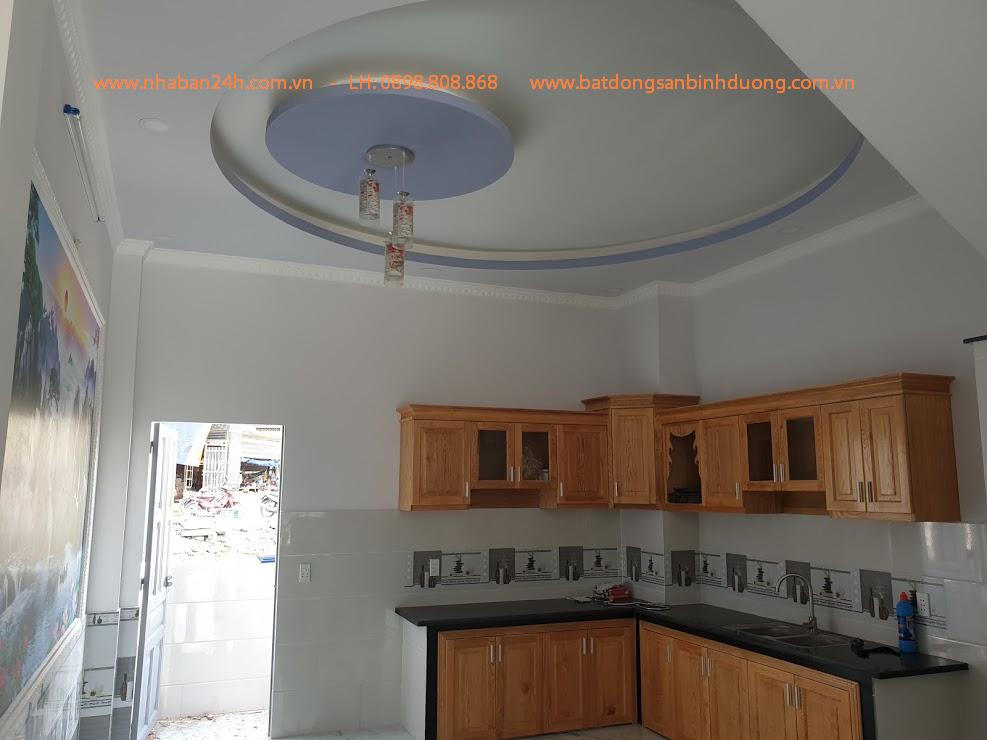 Phòng bếp Nhà bán dĩ an bình dương sổ hồng chính chủ