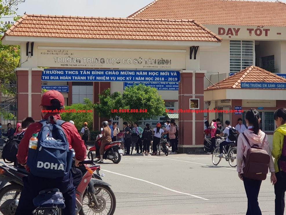 Trường trung học cơ sở tân bình dĩ an bình dương