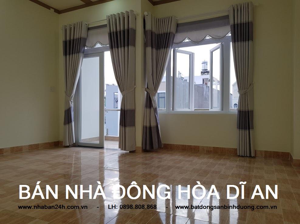 Phòng ngủ số 3 nhà bán dĩ an bình dương