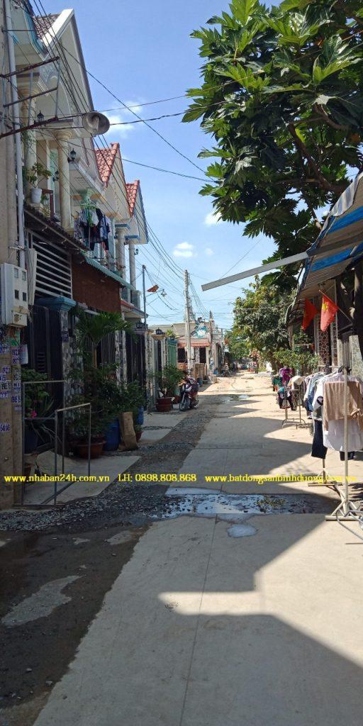 Bán nhà đường Nguyễn Thị Khắp Dĩ An Bình Dương giá rẻ
