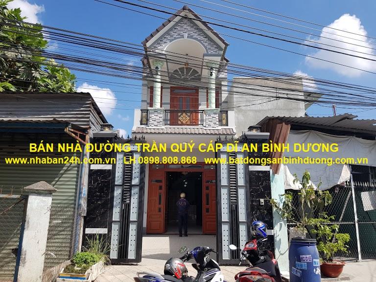 Bán nhà đường Trần Qúy Cáp Dĩ An Bình Dương