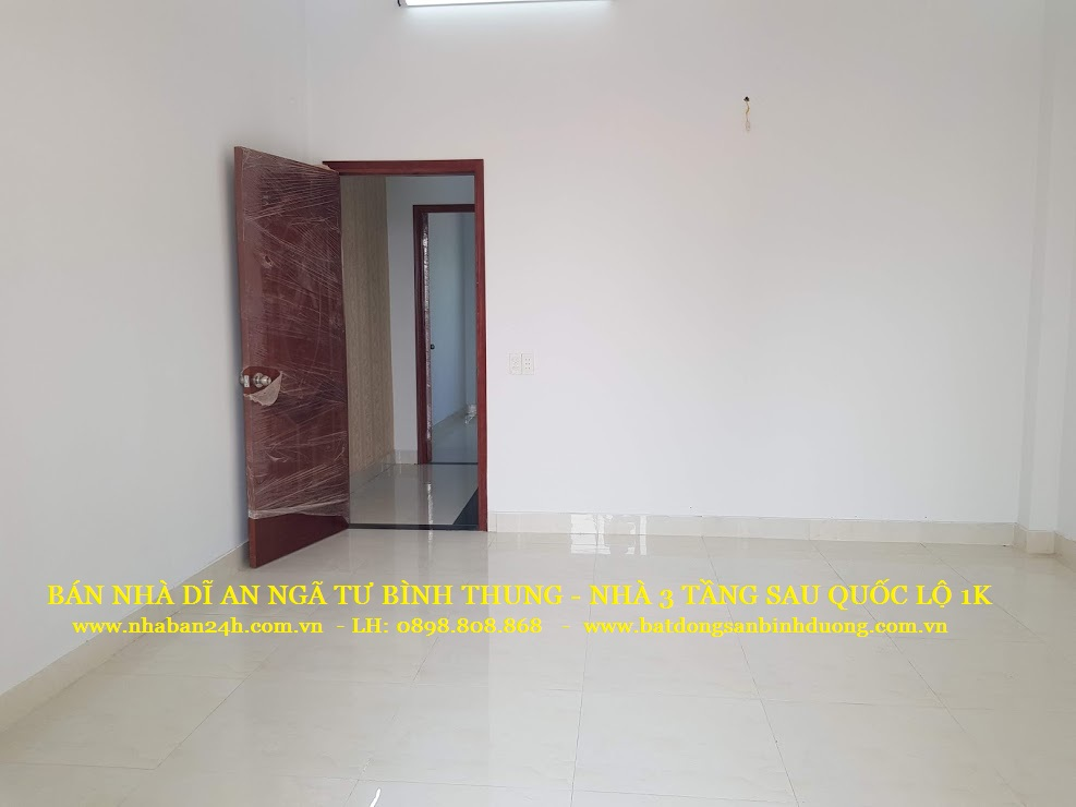 Phòng ngủ số 1 nhà bán dĩ an bình dương