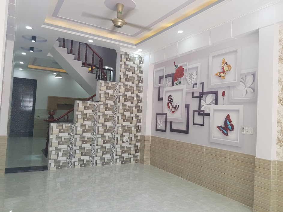 Phòng khách nhà bán dĩ an bình dương 2019