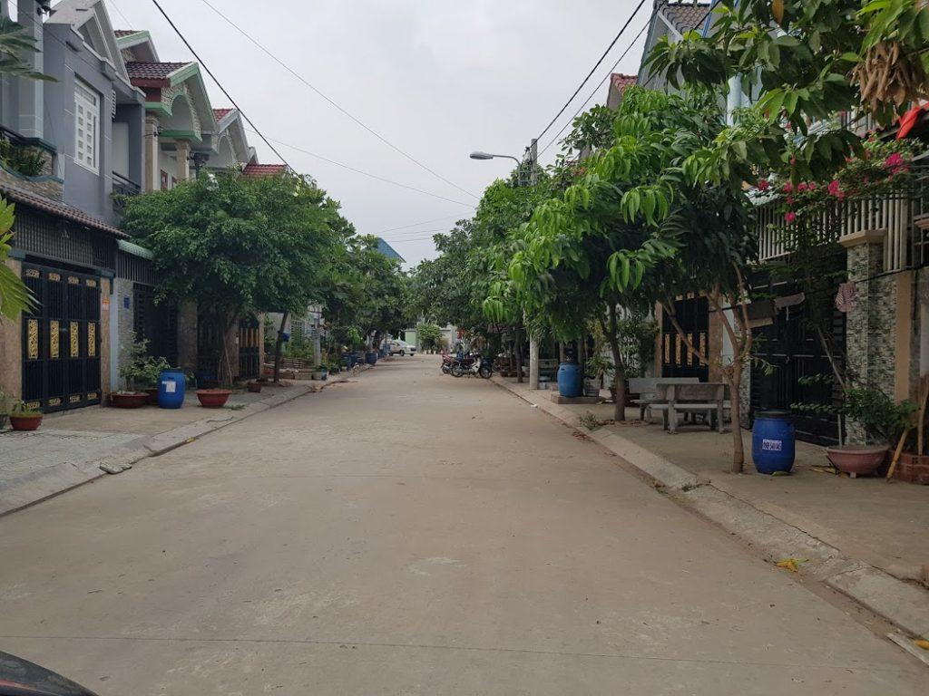 Khu dân cư được quy hoạch đồng bộ theo tiêu chuẩn thành phố dĩ an