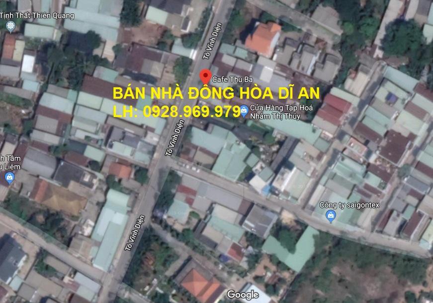 Bán nhà ở Đông Hòa | Nhà phố 1 trệt, 1 lầu DT 4 x 18m Gía 2,7 tỷ