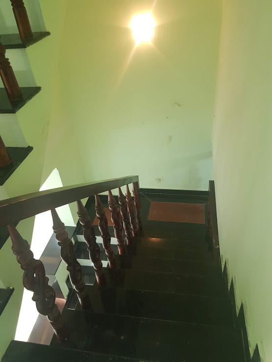 Cầy thang gỗ cam xe cao cấp