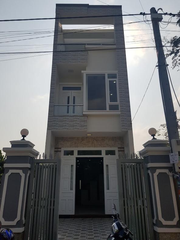 Bán nhà trường Tân Đông Hiệp B, Dĩ An, dt 4x20m nhà 3 tầng