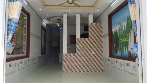Phòng khách nhà bán khu phố tháng lợi dĩ an bình dương