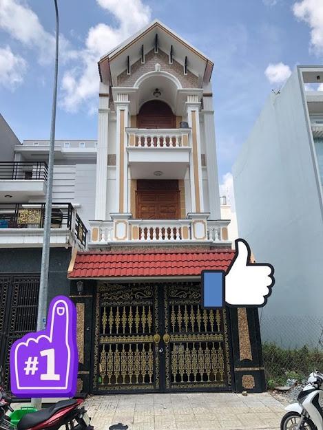 Bán nhà Ngã Tư Chiêu Liêu Dĩ An, 5x13m, Nhà 3 tầng, đường rộng 6m