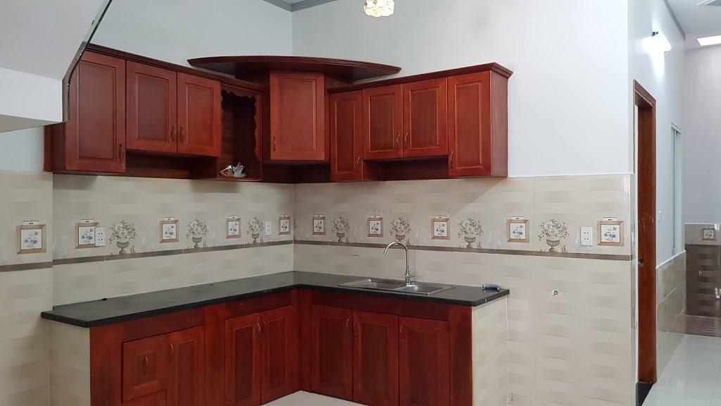Tủ bếp nội thất gỗ cao cấp 2019
