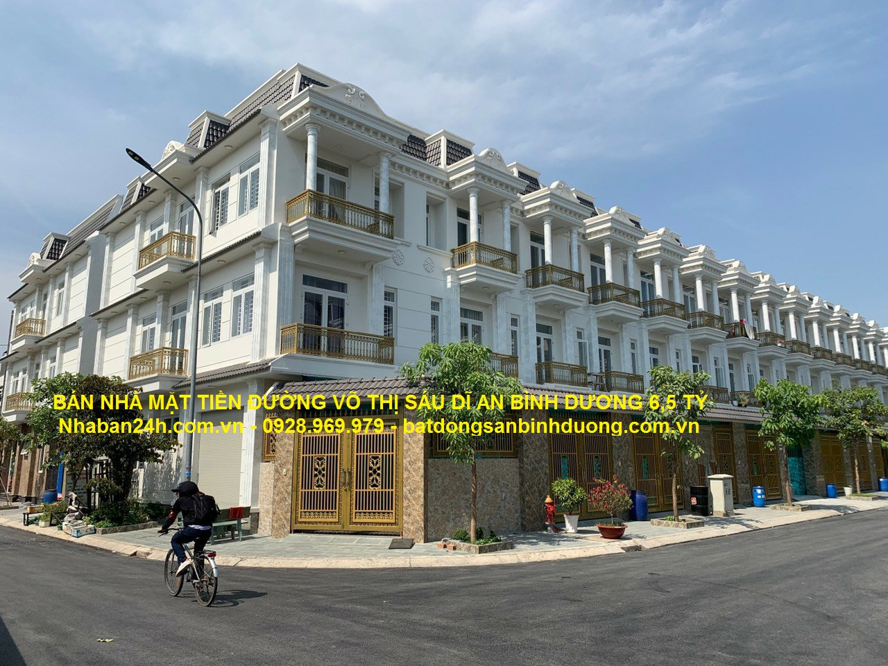 Bán nhà mặt tiền đường Võ Thị Sáu Dĩ An Bình Dương 4x20m _ 6,5 tỷ
