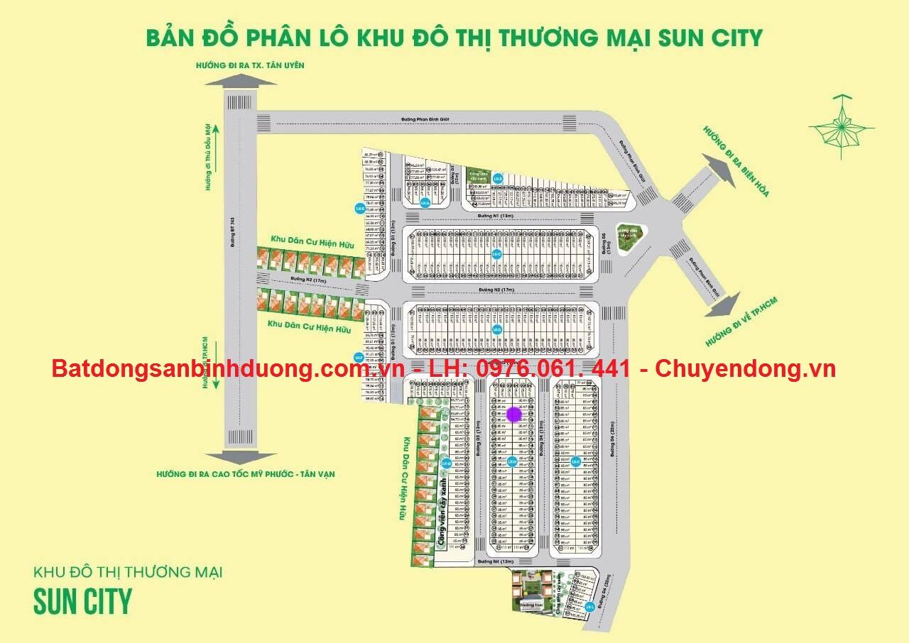 Bán đất sổ hồng riêng An Phú, Thành Phố Thuận An, Bình Dương