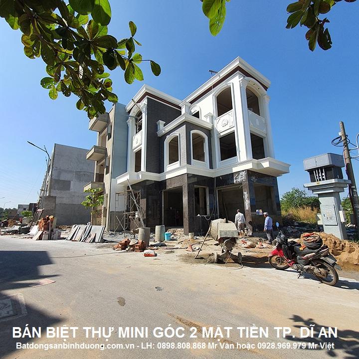 Bán biệt thự thành phố DĨ AN cách chợ Đông Hòa 800m