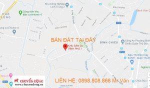 Bán đất khu dân cư Vĩnh Phú 1, Thành Phố Thuận An, Bình Dương