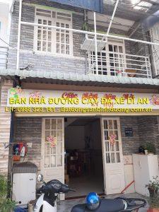 Bán nhà riêng đường Cây Đa Xề Đông Hòa