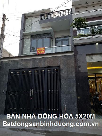 ✅ Bán nhà Đông Hòa Thành Phố Dĩ An diện tích 100m2