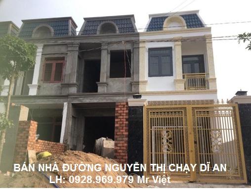 Bán Nhà Đường Nguyễn Thị Chạy Gần Chợ Tân Long Dĩ An