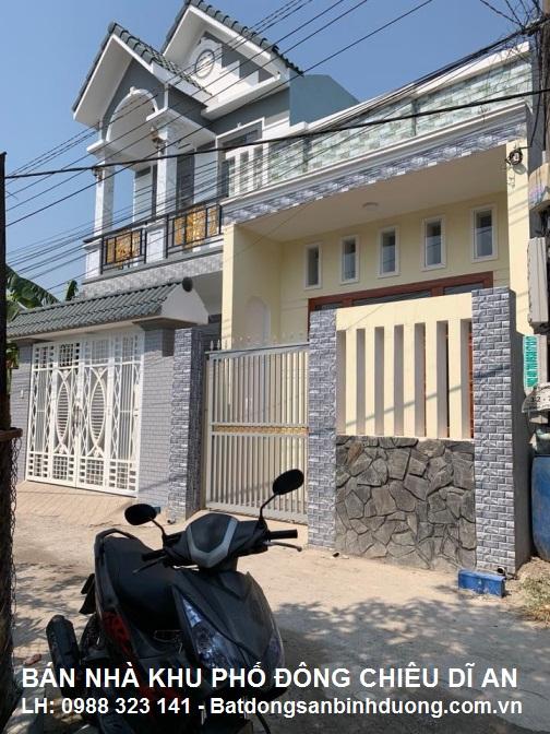 BÁN NHÀ KHU PHỐ ĐÔNG CHIÊU DĨ AN LH: 0988 323 141 - Batdongsanbinhduong.com.vn