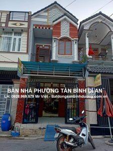 Bán nhà gần ủy ban phường Tân Bình Thành Phố Dĩ An _ Gía bán 2 tỷ 200 triệu