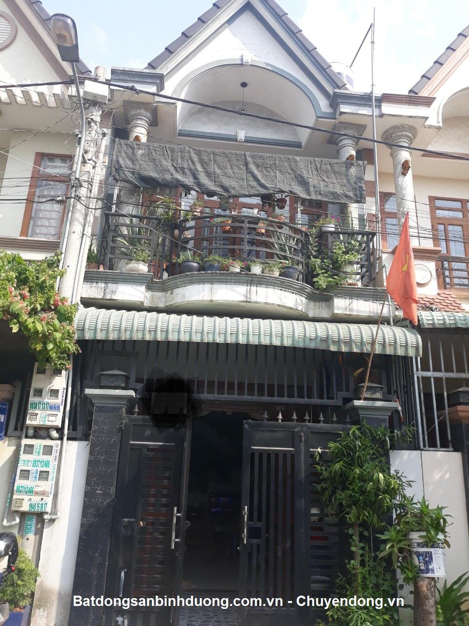 Bán nhà 1lầu trệt sổ hồng riêng gần chợ tân long