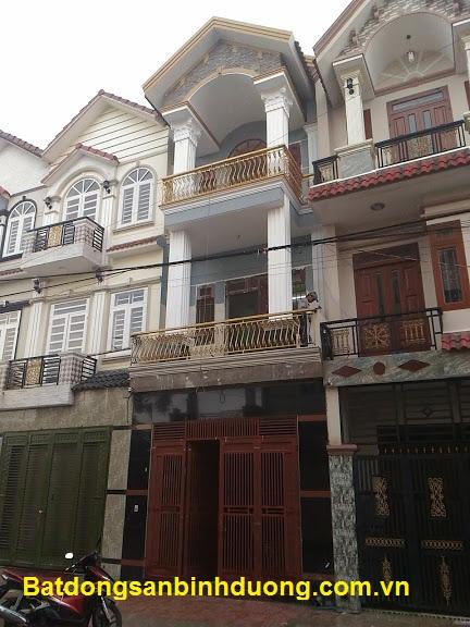 Bán nhà đường Lê Văn Tiên - thành phố Dĩ An