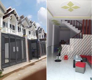Bán nhà 1 lầu 1 trệt xây dựng chắc chắn giá rẻ nhất