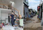 Bán nhà Dĩ An, 45m2, gần chợ Đoàn Thị Kia ngã 3 Ông Xã